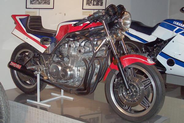 moto honda 5 cylindres